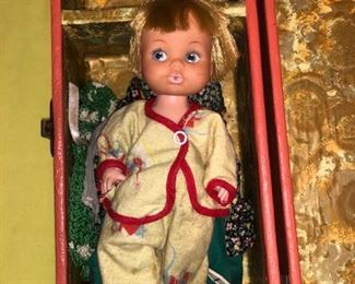 Vintage dolls and toys......