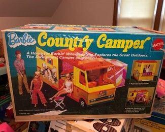 Barbie country camper