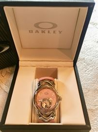 Oakley woman's watch