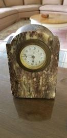 Vintage marble clock.