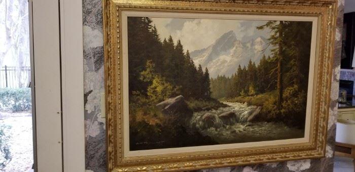 J H Thomas painting