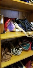 More than 50 purses