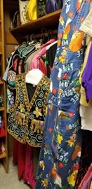 Hee Haw Overalls, Indian embroidered vest