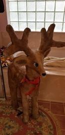 Large fuzzy reindeer