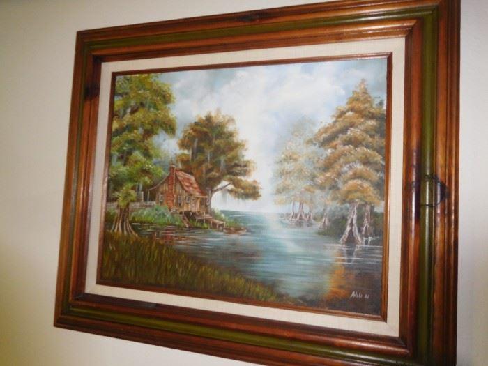 Cajun oil on canvas