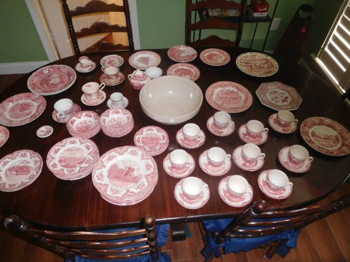 Johnson Bros and other transfer ware