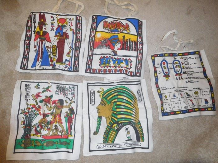 Canvas bags from Egypt