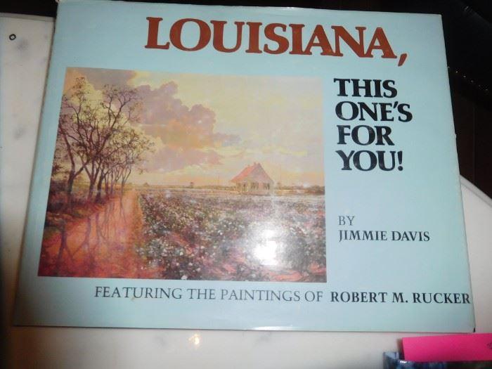 Autographed copy by Robert Rucker & Gov. Jimmie Davis