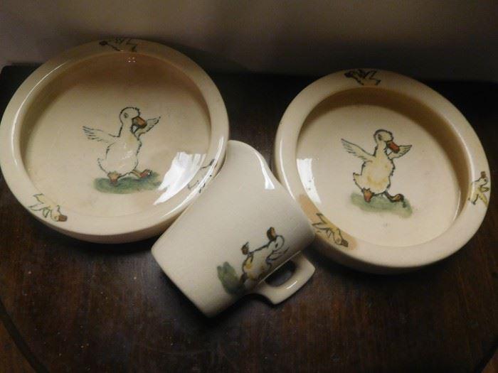 Antique Weller Ware items