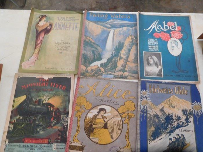 Loads of Art Deco era sheet music
