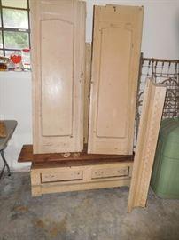 Antique armoire...a project piece