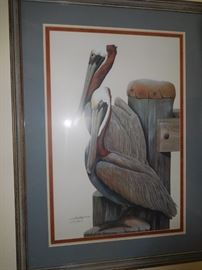 Signed & numbered Art Lamay