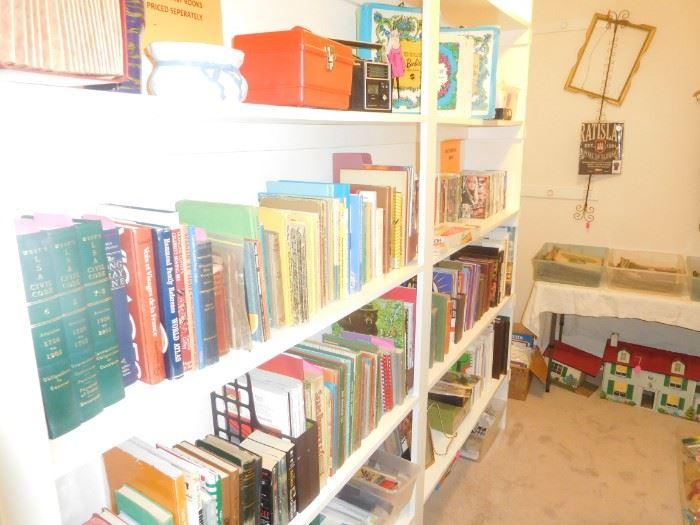 Lots of vintage children's books