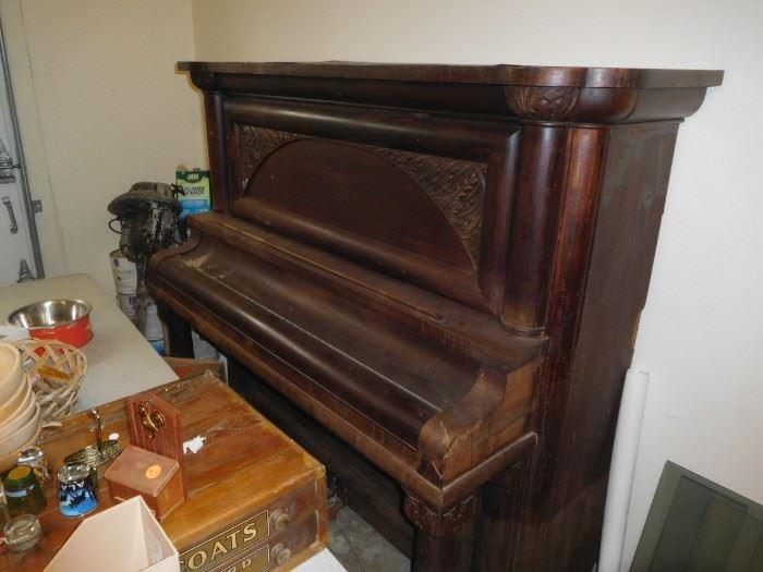 Antique piano... needs a little help