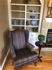 Very comfortable like new queen and chair