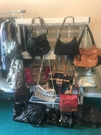 Great selection of purses/handbags