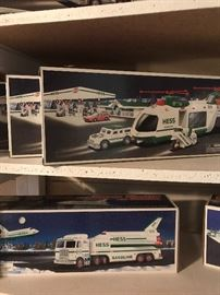 Hess collectible trucks