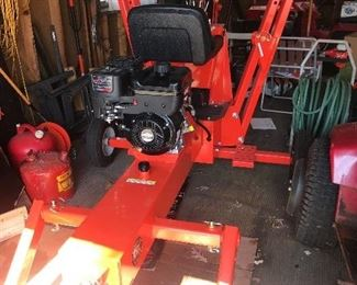 """DR Power Towable Backhoe. Never used- only started. 12"""" Digging Bucket and ripping attachment."""