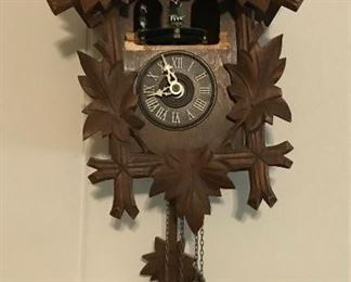 Antique cuckoo clock.