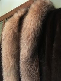 And why not. Better now than never. Affordable full length mink that should be worn...just because. Newer like condition and well maintained.