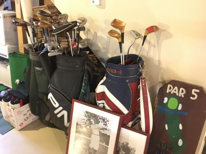 Golf items of interest.