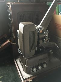 Vintage Rever 16mm sound projector Model S-16.