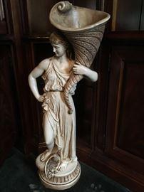 Large statuary artistically beautiful.