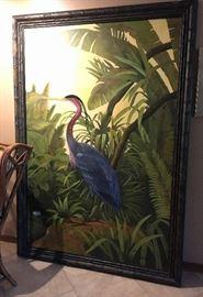 Oversize Oil Canvas, Crane
