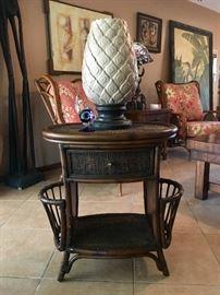 Hooker Seven Seas Chairside Table
