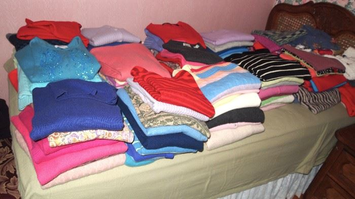 Mostly Cashmere sweaters!