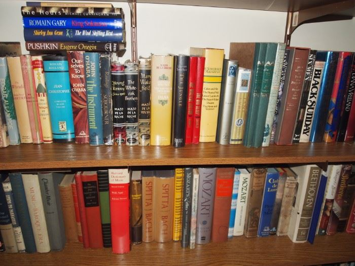 Some close-up book photos following from upstairs library...