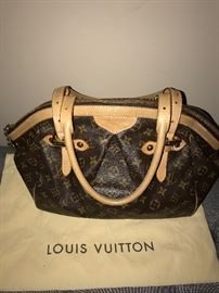 AUTHENTIC LOUIS VUITTON TIVOLI GM HANDBAG