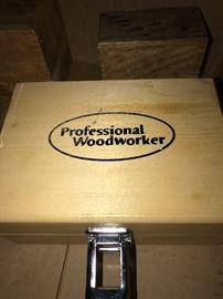PROFESSIONAL WOODWORKER BIT SET