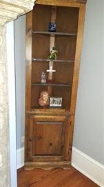 Corner Cabinet & Contents