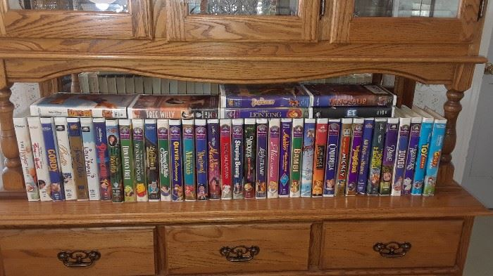 LOADS of Disney VHS