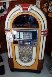 "Rowe AMI Coin Operated Electric Compact Disc Jukebox With Keys, 62"" x 34"" x 29"""