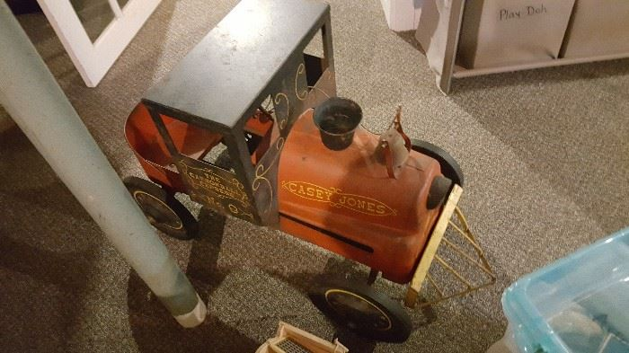 CASEY JONES PEDAL CAR
