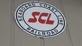 Vintage Railroad signs