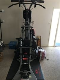 Bowflex hardly used.  Available for presale.