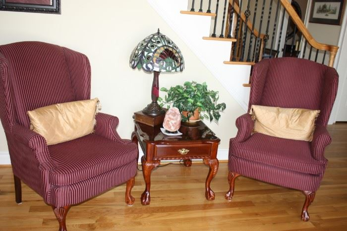 chair end table decorations