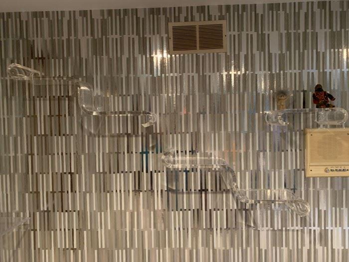 Lucite Wall Shelf