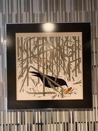 Bird Print by Kurt Frankenstein