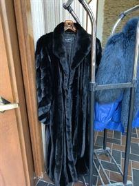 Barth-Wind Mink Coat
