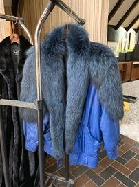 Fur Collared Jacket