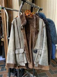 Suede Winter Coat