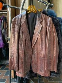 Genuine Watersnake Jacket