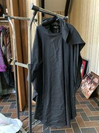 Black Wrap with Hood