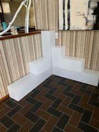 Lucite Box Stands