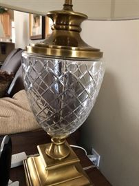 Crystal lamp $60