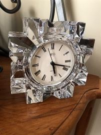 Crystal clock $10